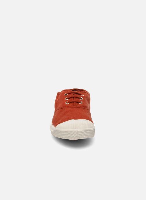 Sneaker Bensimon Tennis Lacets E rot schuhe getragen