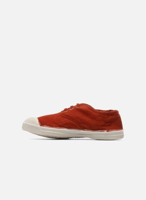 Sneaker Bensimon Tennis Lacets E rot ansicht von vorne