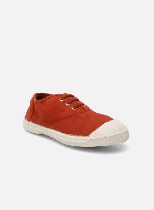Sneaker Bensimon Tennis Lacets E rot detaillierte ansicht/modell