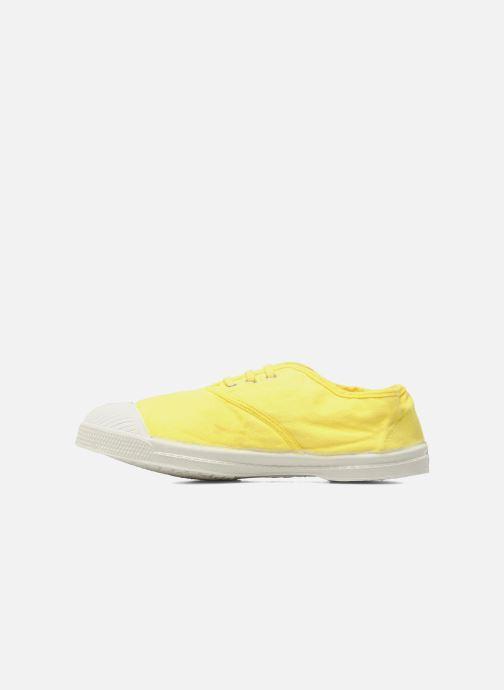 Sneaker Bensimon Tennis Lacets E gelb ansicht von vorne