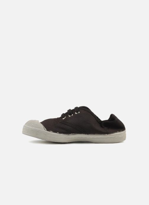 Baskets Bensimon Tennis Lacets E Marron vue face