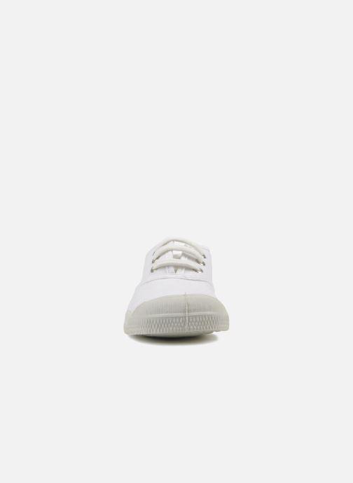 Sneaker Bensimon Tennis Lacets E weiß schuhe getragen