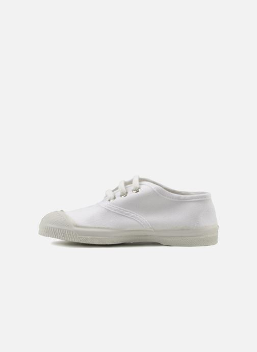 Baskets Bensimon Tennis Lacets E Blanc vue face