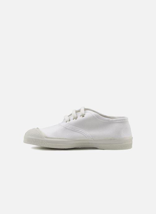 Sneaker Bensimon Tennis Lacets E weiß ansicht von vorne