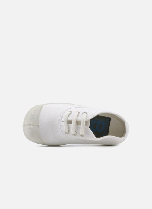 Trainers Bensimon Tennis Lacets E White view from the left