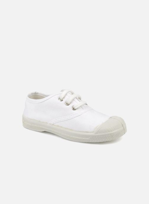 Trainers Bensimon Tennis Lacets E White detailed view/ Pair view