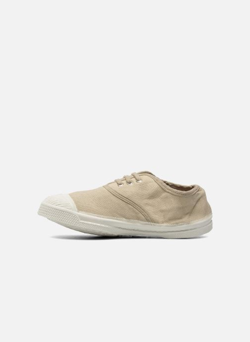 Baskets Bensimon Tennis Lacets E Gris vue face