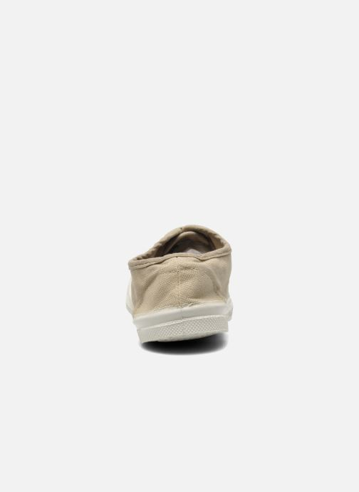 Trainers Bensimon Tennis Lacets E Grey view from the right