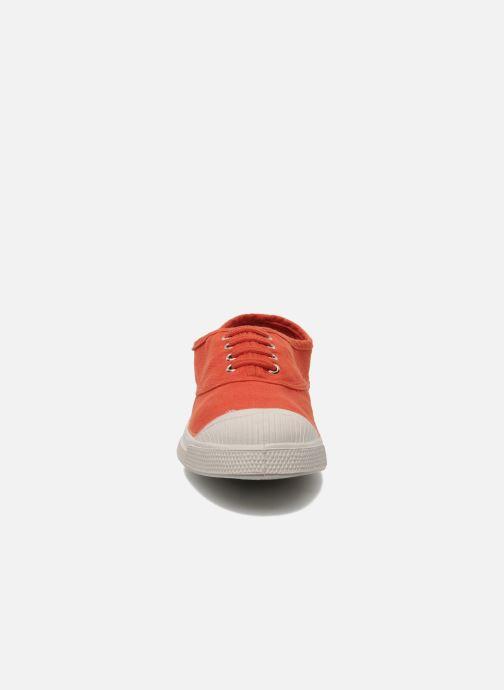 Sneaker Bensimon Tennis Lacets E orange schuhe getragen