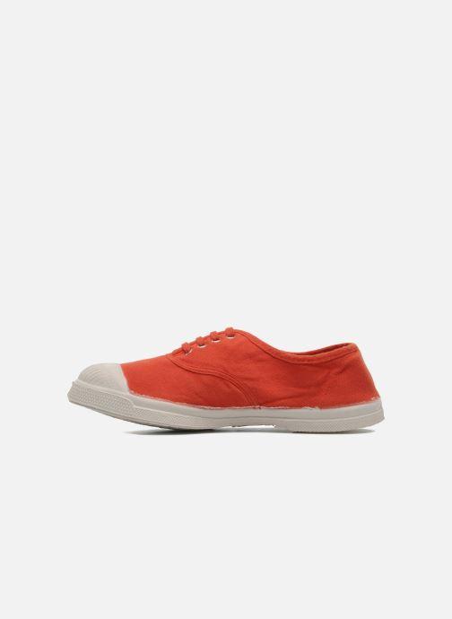 Sneaker Bensimon Tennis Lacets E orange ansicht von vorne