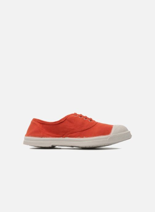 Trainers Bensimon Tennis Lacets E Orange back view
