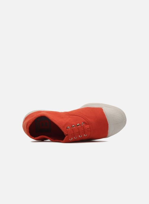 Trainers Bensimon Tennis Lacets E Orange view from the left