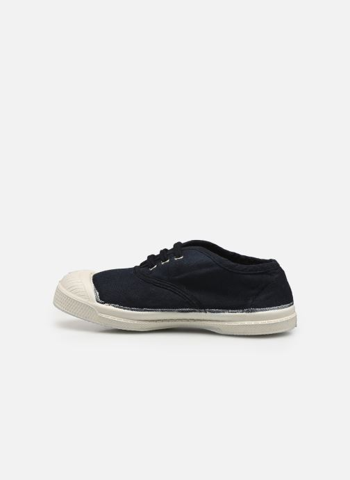 Baskets Bensimon Tennis Lacets E Bleu vue face