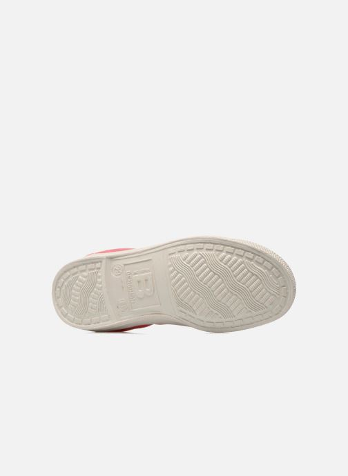 Trainers Bensimon Tennis Lacets E Pink view from above