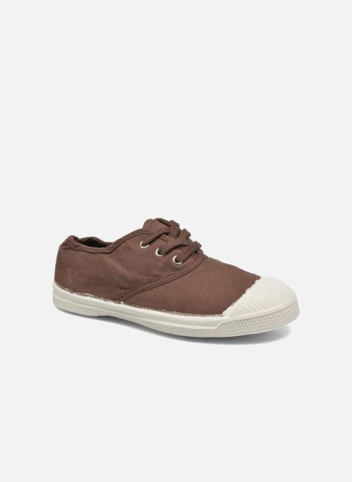 Baskets Bensimon Tennis Lacets E Marron vue détail/paire