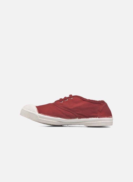 Baskets Bensimon Tennis Lacets E Rouge vue face