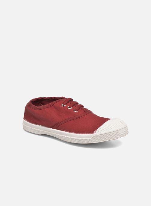 Sneakers Bensimon Tennis Lacets E Rød detaljeret billede af skoene