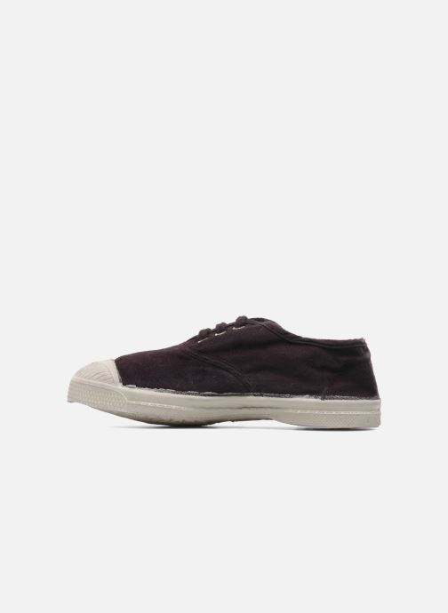 Baskets Bensimon Tennis Lacets E Violet vue face
