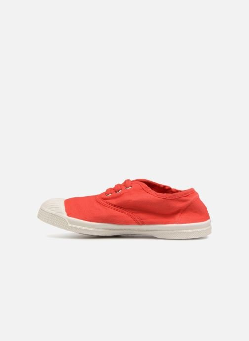 Baskets Bensimon Tennis Lacets E Rouge vue face