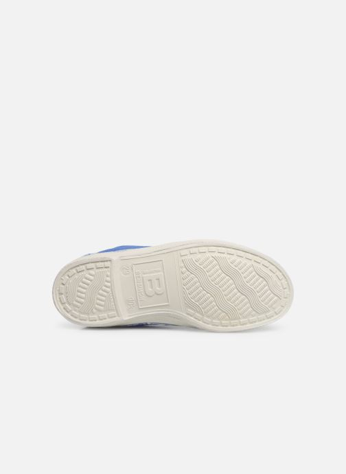 Trainers Bensimon Tennis Lacets E Blue view from above
