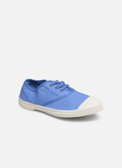 Trainers Bensimon Tennis Lacets E Blue detailed view/ Pair view