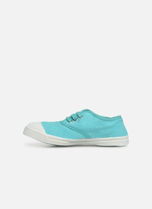 Baskets Bensimon Tennis Lacets E Vert vue face