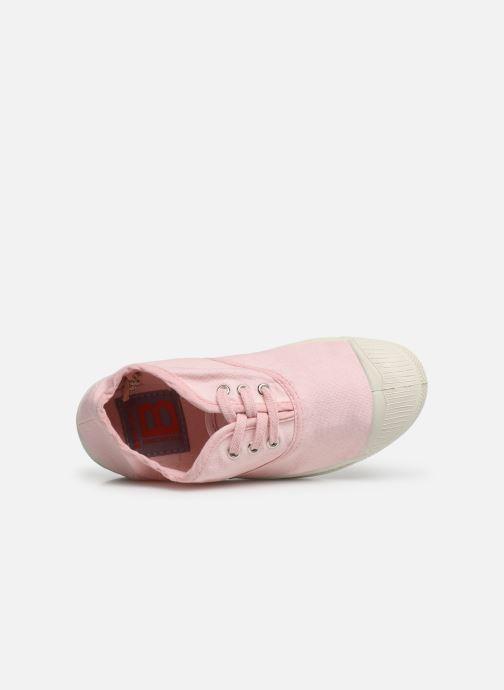 Sneakers Bensimon Tennis Lacets E Rosa immagine sinistra