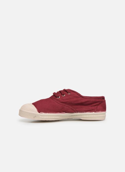 Baskets Bensimon Tennis Lacets E Bordeaux vue face
