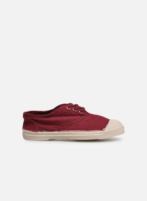 Trainers Bensimon Tennis Lacets E Burgundy back view