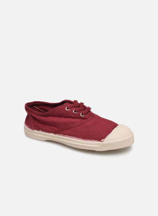 Trainers Bensimon Tennis Lacets E Burgundy detailed view/ Pair view