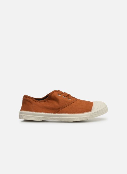 Trainers Bensimon Tennis Lacets E Brown back view
