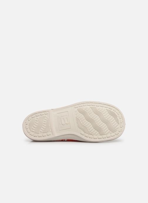 Trainers Bensimon Tennis Lacets E Red view from above