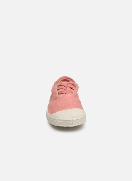 Sneakers Bensimon Tennis Lacets E Rosa modello indossato