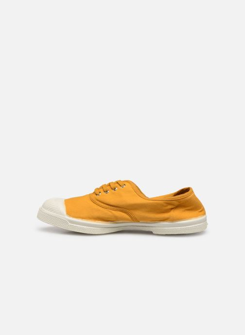 Baskets Bensimon Tennis Lacets E Jaune vue face
