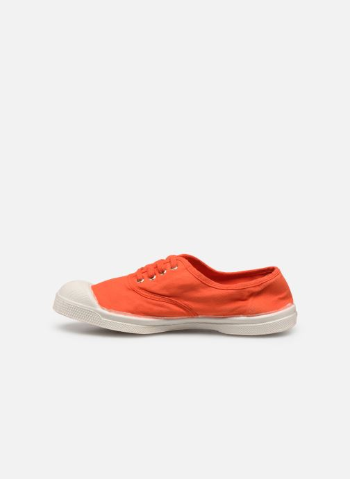 Baskets Bensimon Tennis Lacets E Orange vue face