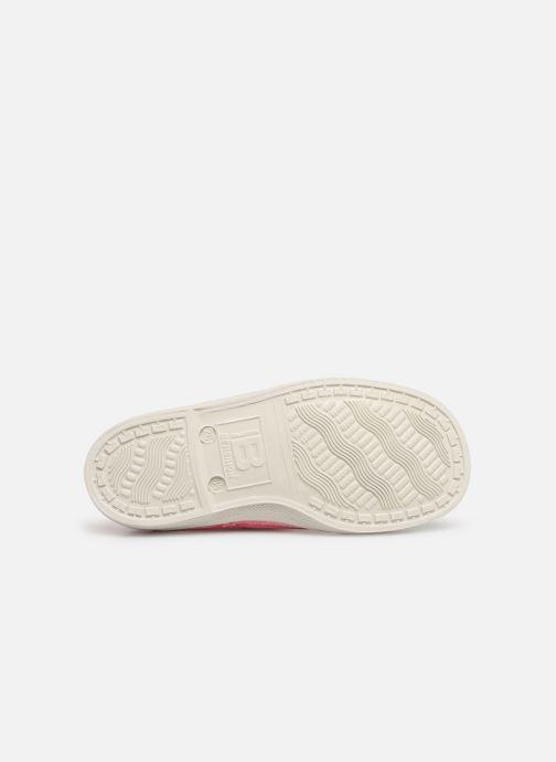 Sneaker Bensimon Tennis Lacets E rosa ansicht von oben