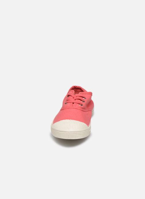 Sneakers Bensimon Tennis Lacets E Rosso modello indossato