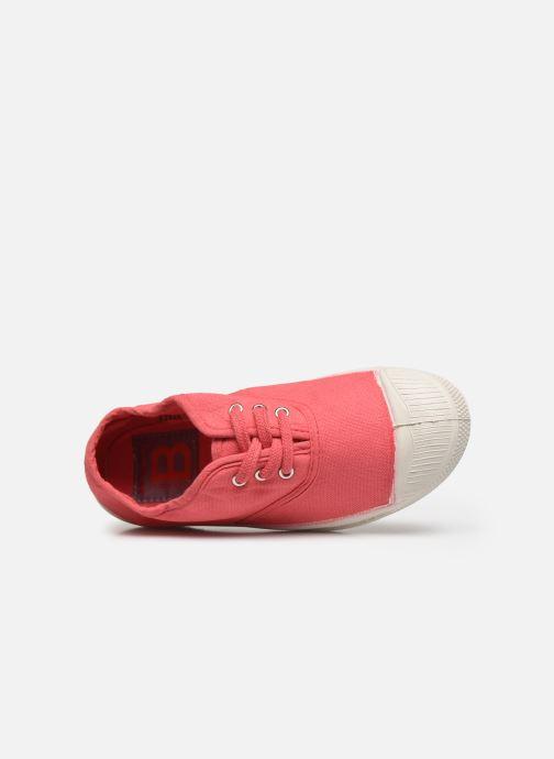 Sneakers Bensimon Tennis Lacets E Rosso immagine sinistra