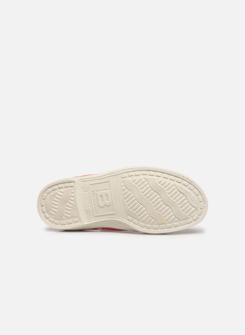 Sneakers Bensimon Tennis Lacets E Rosso immagine dall'alto
