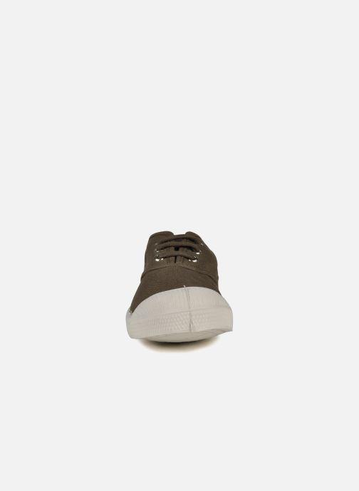 Sneakers Bensimon Tennis Lacets E Marrone modello indossato