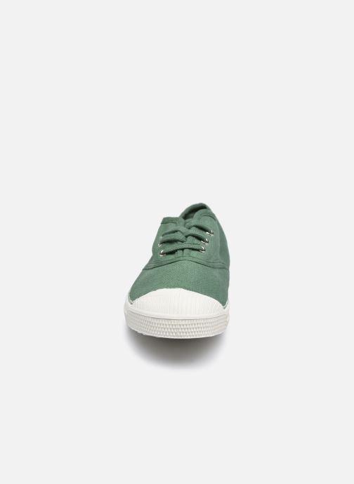Sneakers Bensimon Tennis Lacets E Verde modello indossato