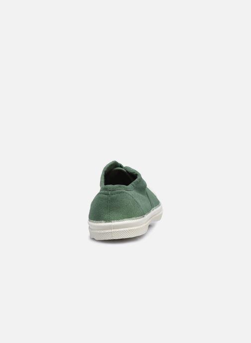 Sneakers Bensimon Tennis Lacets E Verde immagine destra