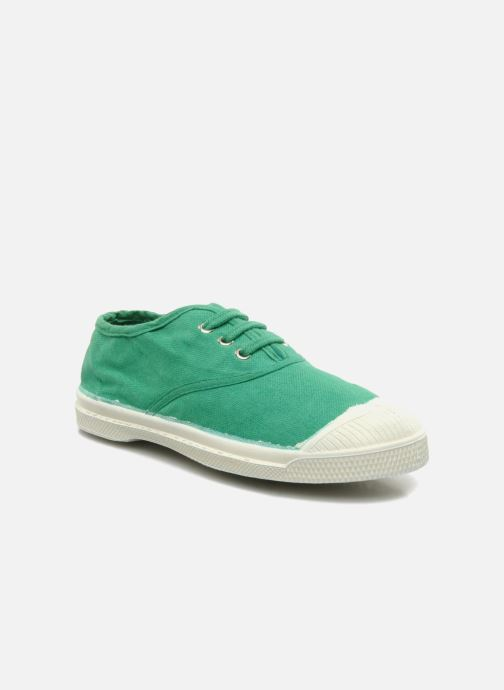 Trainers Bensimon Tennis Lacets E Green detailed view/ Pair view