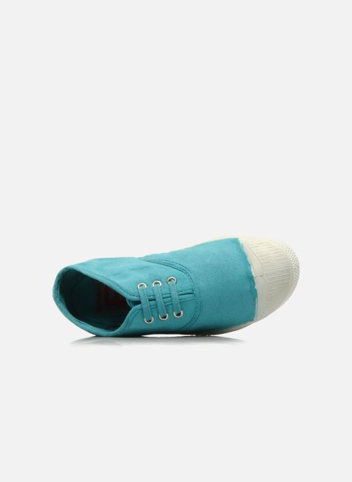 Trainers Bensimon Tennis Lacets E Blue view from the left