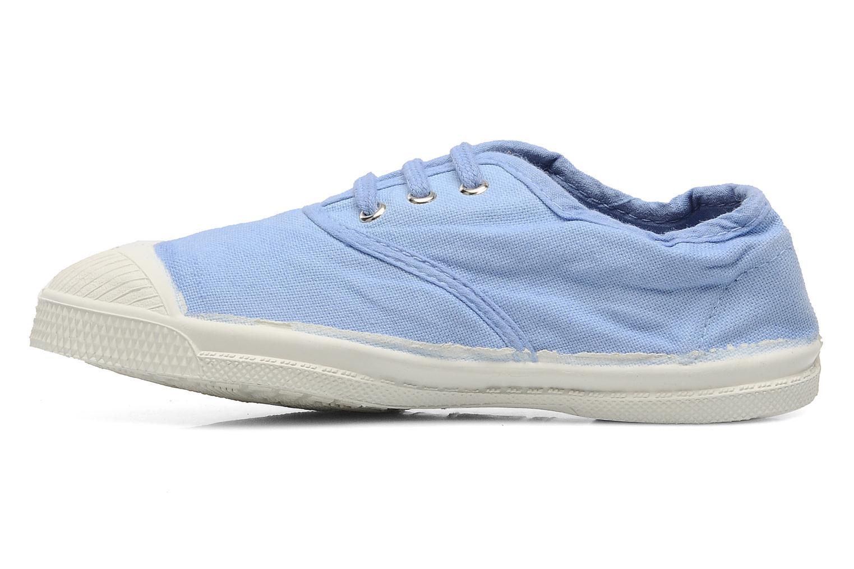 Baskets Bensimon Tennis Lacets E Bleu vue face