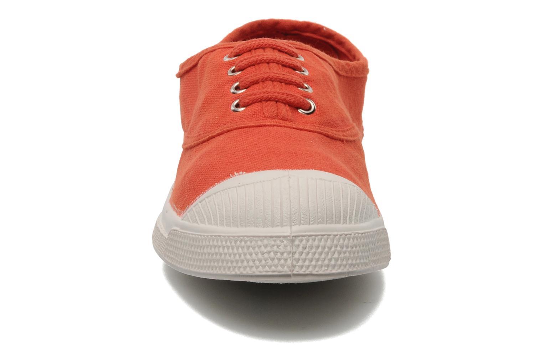 Deportivas Bensimon Tennis Lacets E Naranja vista del modelo