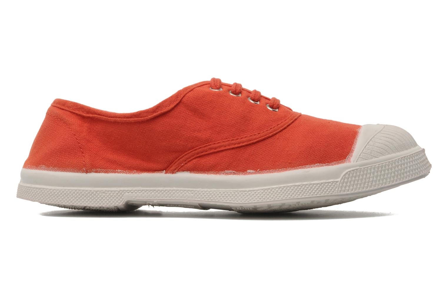 Baskets Bensimon Tennis Lacets E Orange vue derrière