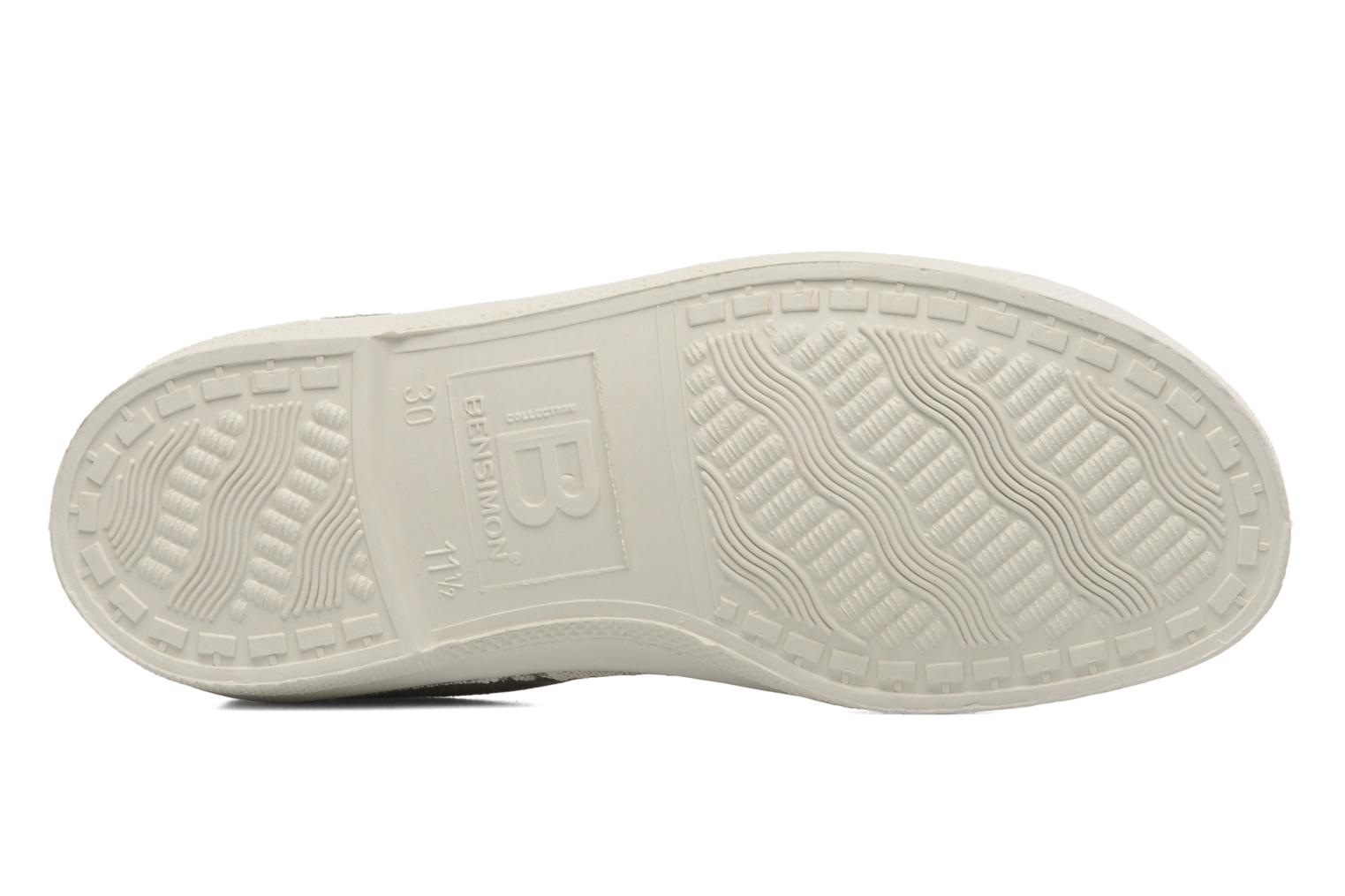 Trainers Bensimon Tennis Lacets E Beige view from above