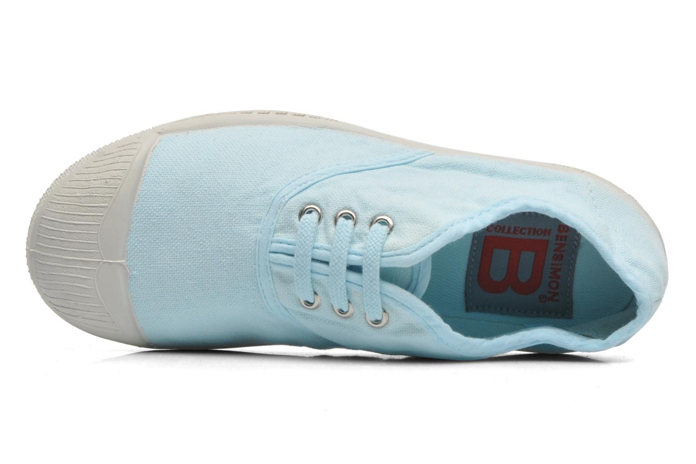 Deportivas Bensimon Tennis Lacets E Azul vista lateral izquierda