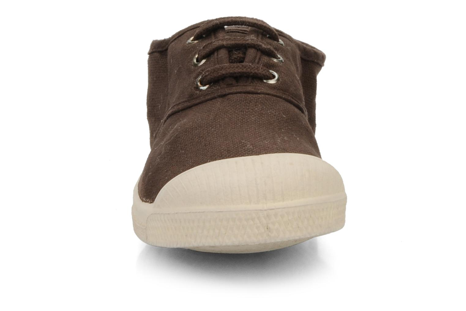 Trainers Bensimon Tennis Lacets E Brown model view